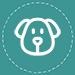 Icon Hund türkis