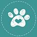 Icon Hundepfote Herz